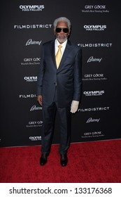 "Morgan Freeman at the ""Olympus Has Fallen"" Los Angeles Premiere, Arclight, Hollywood, CA 03-18-13"