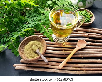 Moringa oleifera tea . healthy drinks