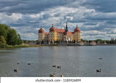 Moritzburg Castle near Dresden
