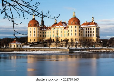 Moritzburg Castle in winter!