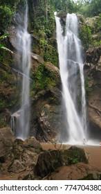 Mork-fa waterfall Chiang Mai Thailand