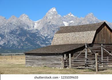 mormon barn wyoming
