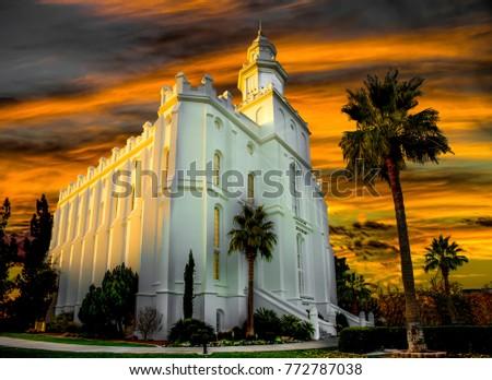 Mormon temple St George