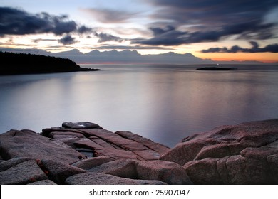 Morning Along The Seacoast, Acadia National Park, Maine