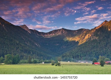 Morning in the Alps of Bavaria