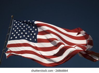 It is morning in America and the flag still flies over her land.