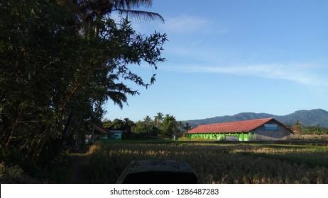 morning atmosphere at Warung Kondang, Cianjur