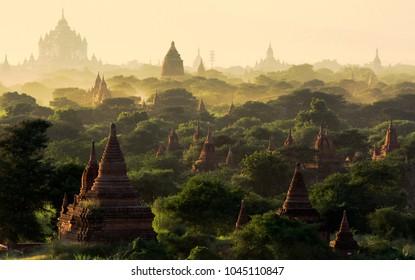 Morning in Bagan, Myanmar/Burma
