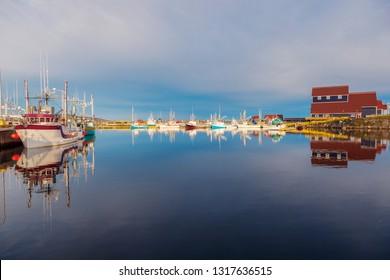 Morning in Bonavista, Newfoundland. St. John's, Newfoundland and Labrador, Canada.