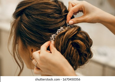 Bride Hairstyle High Res Stock Images Shutterstock