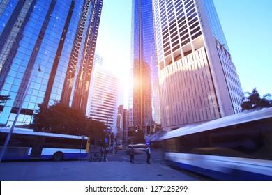 Morning, Brisbane City