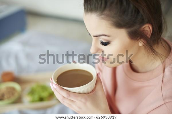 Morning coffee tastes always the best