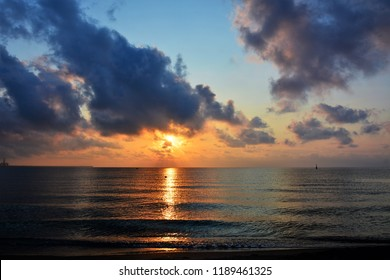 morning comes at sea