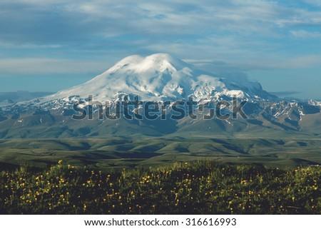 Morning Elbrus