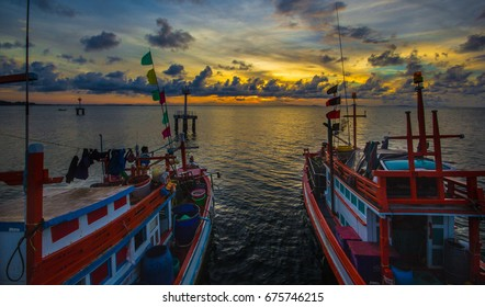 Morning with Fisherman.