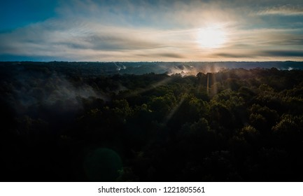 Morning Fog From Above