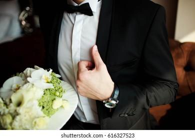 Morning groom