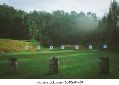 Morning, Gun Shooting Range, outdoor
