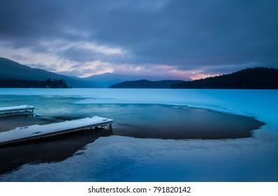 Morning at Lake Placid