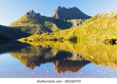 Morning Light, Cradle Mountain in Lake St Clair National Park, Tasmania, Australia