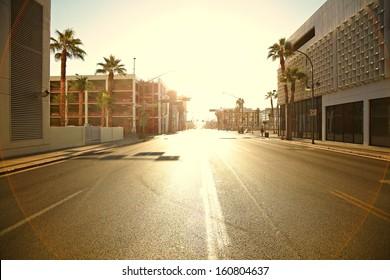 Morning light Las Vegas