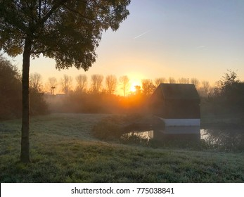 Morning light with mist