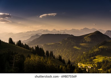 Morning Light on Mount Rigi