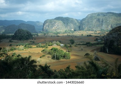 Morning light in the Valley of Vinales at Cuba island
