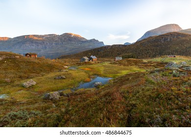 Morning in the mountains,Norway