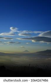 Morning of Mt.Fuji