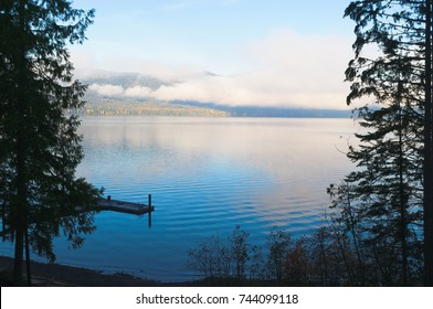 Morning on Priests Lake in Northern Idaho