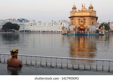 Morning Prayers in Golden Temple, Amritsar