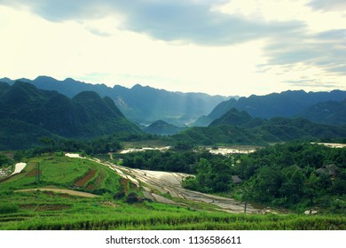 Morning at Pu Luong, Vietnam