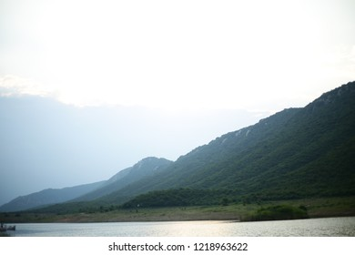 Morning at Rajgir Mountain Ghora Katora