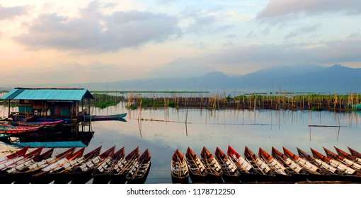 morning in Rawapening Central Java Indonesia