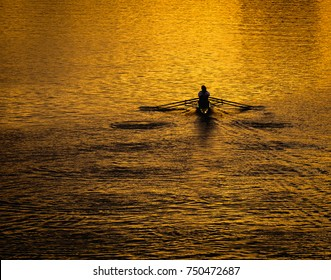 Morning Row on the Charles