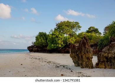 morning scene on ocean shore