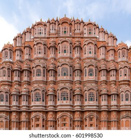 a morning shot of Hava Mahal in Jaipur India