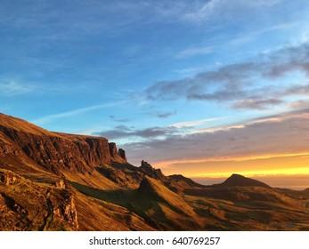 Morning Sun on the Cliffs