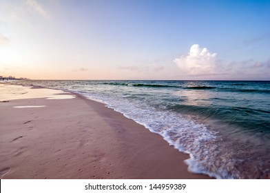 morning sunrise at florida beach
