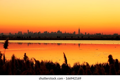 Morning and Sunrise in New York