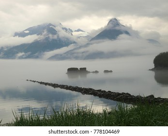 Morning in Valdez, Alaska, USA