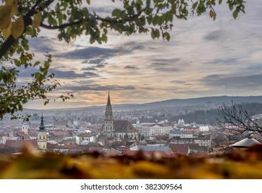 Morning view at Cluj