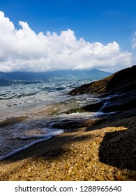 Morning view in Ilhabela beach