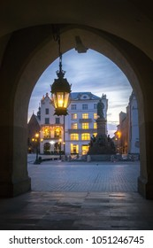 Morning View of Old Town of Krakow - Poland