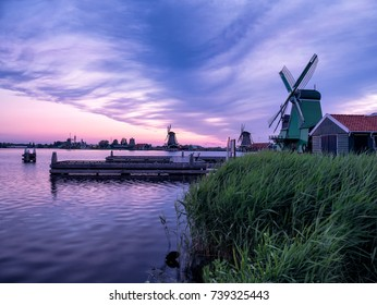 Morning in Zaanse Schans.