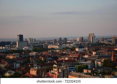 Morning in Zagreb -Panorama