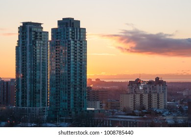 Mornings in Mississauga from the balcony