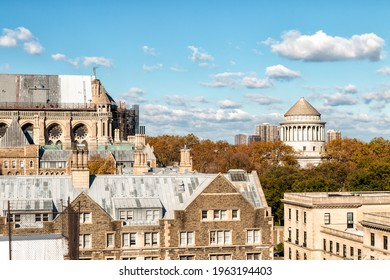 Morningside Heights Rooftops and Grant's Tomb - New York City