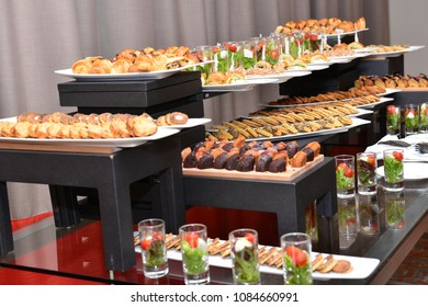 Moroccan biscuits are served with tea. Moroccan biscuits are offered at the wedding and Eid al-Fitr. Moroccan Breakfast